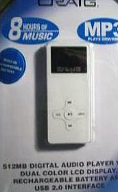 Craig mp3 Player