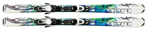 Atomic Affinity Air Womens Skis with XTL 9 Lady Bindings