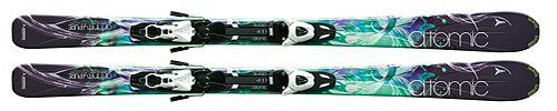 Atomic Affinity Pure Womens Skis with XTO 10 Lady Bindings