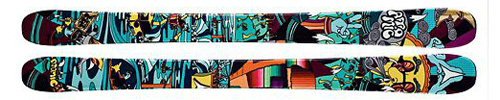 Atomic Bent Chetler Mini Kids Skis
