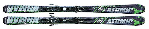 Atomic Blackeye TI Skis with XTO 12 Bindings