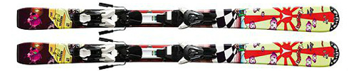 Atomic Rascal Evox 45 Kids Skis with Evox 45 Bindings