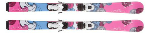 Atomic Sweet Stuff Kids Skis with Evox 45 Bindings